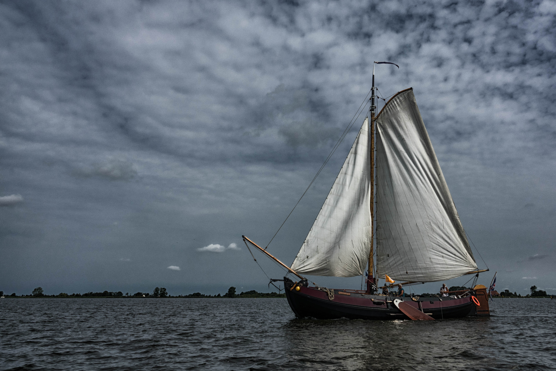 WM-Fotografen, zeilen op het sneekermeer